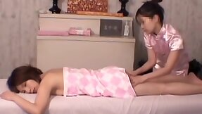 Oddball masseur hardly making out the hairy Asian pussy dvd DBAL015.HQ